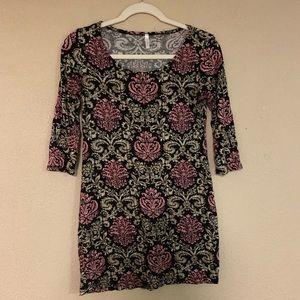 Pink blush maternity shirt size medium